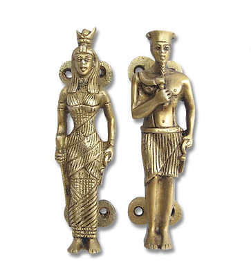 Egyptian culture King & Queen Brass Maindoor Handle Set home & door decor
