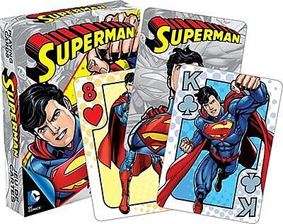 Superman Youth set of 52 playing cards (+ jokers) (nm 52401)