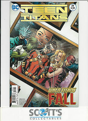 Teen Titans  #24  Nm  New  (Bagged & Boarded)  Freepost