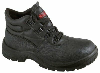 Blackrock Chukka Steel Toe Cap Lightweight Safety Work Boot Black Boots UK Sizes
