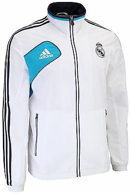 adidas Real Madrid Pres Suit Tracksuit W40454~Mens~Soccer~UK SELLER