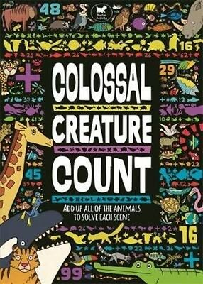 Colossal Creature Count by Daniel Limon Paperback Book