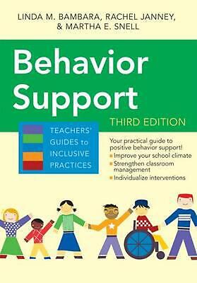 Behavior Support by Linda M. Bambara Paperback Book (English)