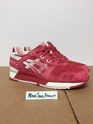 3a2207e48d35 Asics Gel Lyte III 3 Red Cream H64BK-2108 Valentine s Day Strawberries And  kith