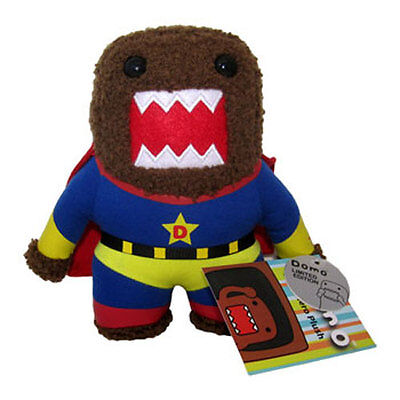 License 2 Play - Plush Stuffed Toy - SUPER HERO DOMO (Small - 6 inch) - New