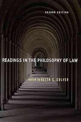 Readings in the Philosophy of Law by Keith Culver Paperback Book (English)