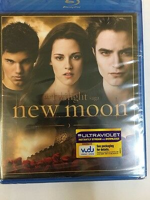 The Twilight Saga: New Moon (Blu-ray Disc, 2010, Special Edition) Brand New!