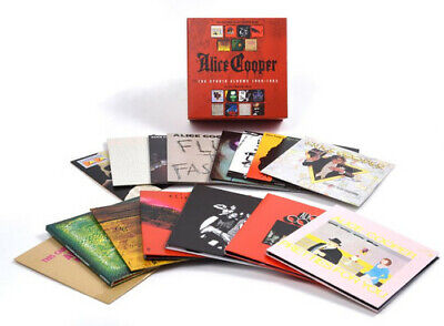 Alice Cooper - Studio Albums 1969-1983 [New CD] Boxed Set