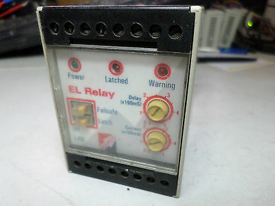 BRAMCO EL RELAY FAILSAFE MODEL i-AB 110AC Earth Leakage Relay - Adjust 50-500mA