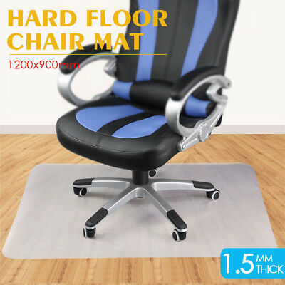1200 x 900mm Home Office Computer Work Chair Mat Hard Floor Protector Square AU