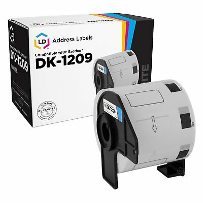 LD Compatible Brother DK-1209 Address Labels / 1.1 in x 2.4 in
