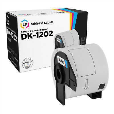 LD Compatible Brother DK-1202 Shipping Labels / 2.4 in x 3.9 in