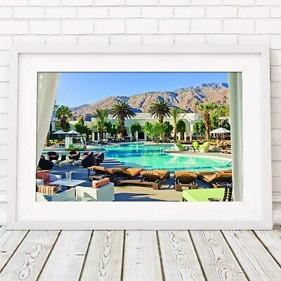 LifeStyle Picture Poster Print Sizes A5 to A0 **FREE DELIVERY** PALM SPRINGS
