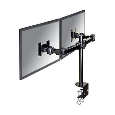 NewStar FPMA-D960D Twin Monitor Desk Mount For 2 Screens Up To 27 inches C2XR