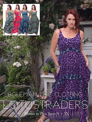 WOMENS FASHION MIDI DRESS CROSS OVER BODICE MADE TO ORDER LotusTraders W5990