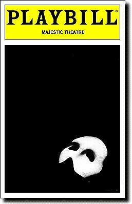 Keith Buterbaugh  (Only) Signed Playbill The Phantom of the Opera  Marcus Lovett