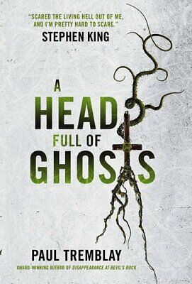 A Head Full of Ghosts by Paul Tremblay Book The Cheap Fast Free Post