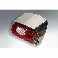 Lambretta Series 3 LI SX Special TV Rear Light Unit in Stainless Steel
