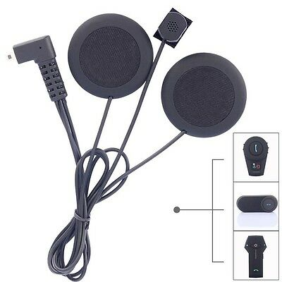 Motorcycle Bluetooth Helmet Intercom Headset Soft Headphone With Microphone
