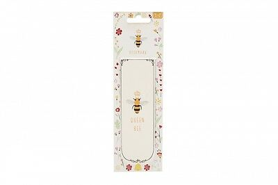 Magnetic Bookmark QUEEN BEE Gift Idea Present for Book Lover Book Mark