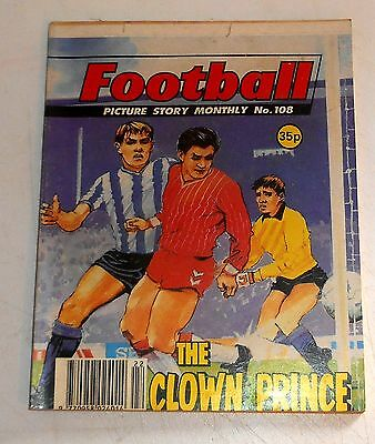 #108 Football Picture Library Comics - THE CLOWN PRINCE - 1990