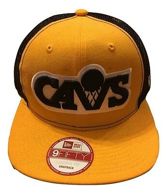 Cleveland Cavaliers Cavs New Era 9Fifty Original Fit Snapback Mens Hat NWT