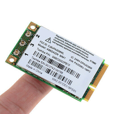 Wireless WiFi 4965AGN MM2 Mini Card for Dell XPS M140 M1210 M1330 M153 CGYG