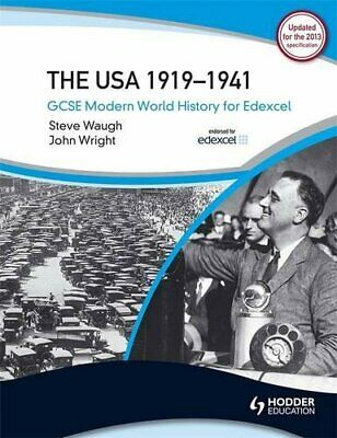 GCSE Modern World History for Edexcel: The USA 1919... by Wright, John Paperback