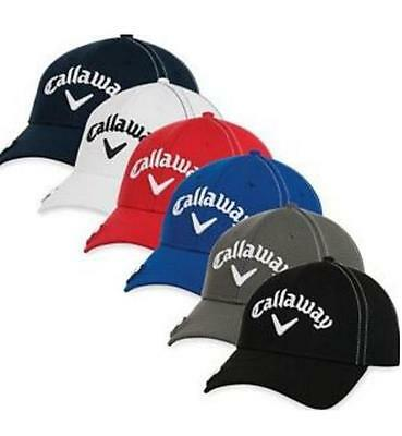 *2016* Callaway Stitch Magnet Adjustable Golf Cap (Various Colours)