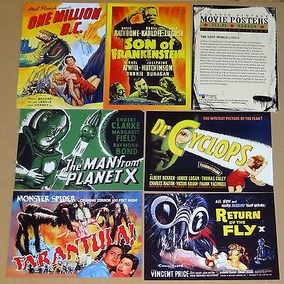 Classic Movie Sci-fi & Horror Posters Series 2 Complete Mint 49 Card Base Set