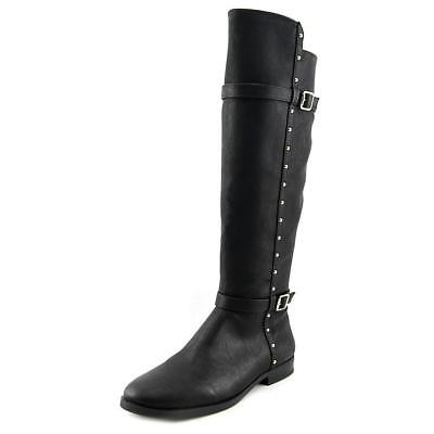 INC International Concepts Ameliee Women Synthetic Black Knee High Boot NWOB