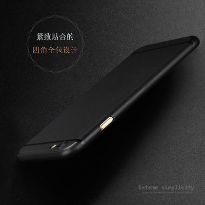 Ultra Thin Shockproof Matte Clear TPU Back Case Cover Skin For iPhone 6 6S Plus