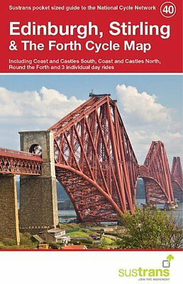 Edinburgh, Stirling & The Forth Sustrans Cycle Map 40