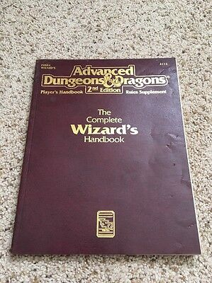 Advanced Dungeons & Dragons The Complete Wizard's Handbook TSR AD&D