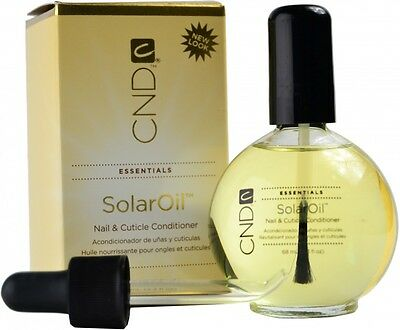 Cnd Essentials Solar Oil 68 Ml Nail And Cuticle Conditioner 68 Ml
