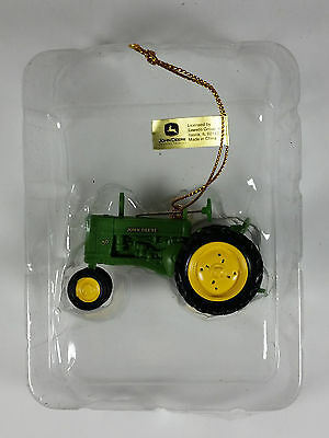 John Deere Tractor Holiday Ornament by Enesco New in Original Box