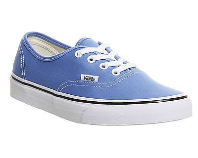 19d2ec8bb36 New Vans Authentic Marina Blue True White Skate Sk8 Shoes Womens 6.5 Mens 5  Nib