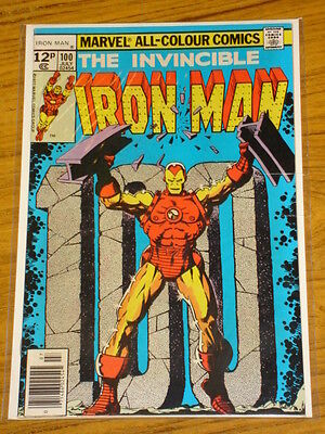 Ironman #100 Vol1 Marvel Comics Scarce July 1977