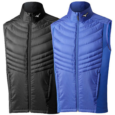 Mizuno Golf 2016 Mens Breath Thermo Micro Down Performance Gilet Bodywarmer