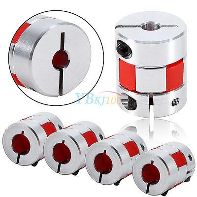 D25 L30 Flexible Shaft Plum Coupling CNC Stepper Motor Encoder Connector Coupler
