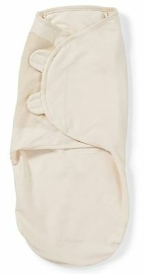 Light Gray SUMMER Swaddle ME 100%Cotton Easy Wrap Swaddle Size Newborn-4mths
