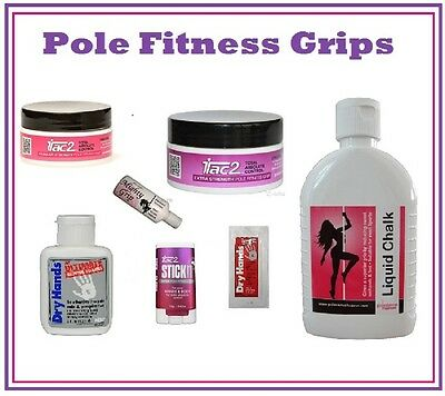 Pole Fitness Grips - Liquid Chalk - iTac2 - Tite Grip 2- Mighty Grip - Dry Hands