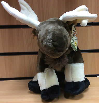 "12"" (30 cm) Real Life like Wild Republic Moose Soft Toy Plush 80624"