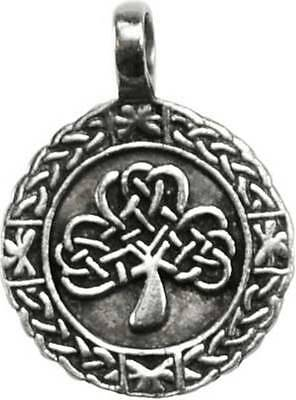 NEW Perpetual Luck Celtic Shamrock Amulet Pendant