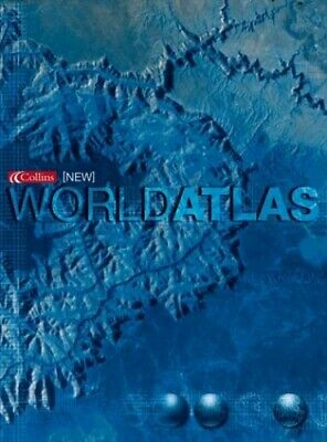 Collins New World Atlas by Atlas Hardback Book The Cheap Fast Free Post