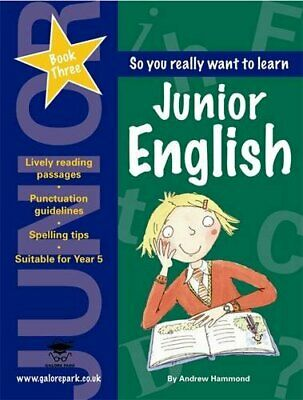 Junior English Book 3 by Hammond, Andrew Paperback Book The Cheap Fast Free Post