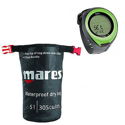 Mares Computer Puck Pro Lime + Dry Sack  01IT