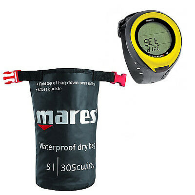Mares Computer Puck Pro Giallo + Dry Sack  01IT