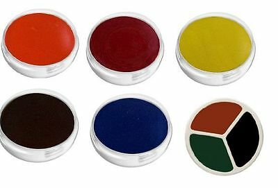 UNISEX FACE PAINT HALLOWEEN WITCH VAMPIRE BODY PAINT Make Up Black or White