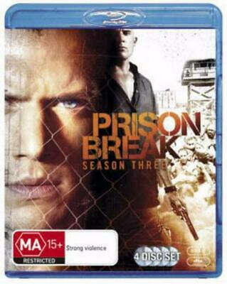 Prison Break: Season 3 - BLR Region 4 Free Shipping!